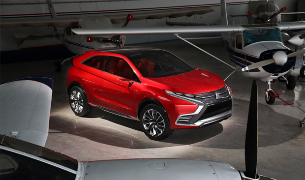 Mitsubishi Motors показала MITSUBISHI XR-PHEV II до Женевского автосалона