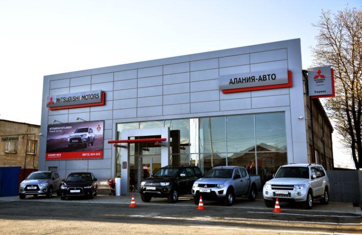 Во Владикавказе открылся первый дилерский центр Mitsubishi – «Алания Авто»