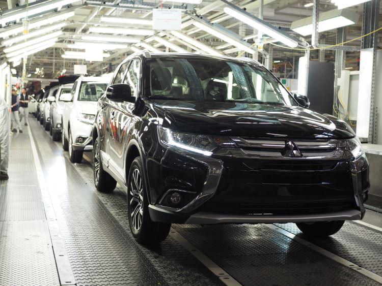 Mitsubishi Outlander теперь соответствует стандарту Евро-5