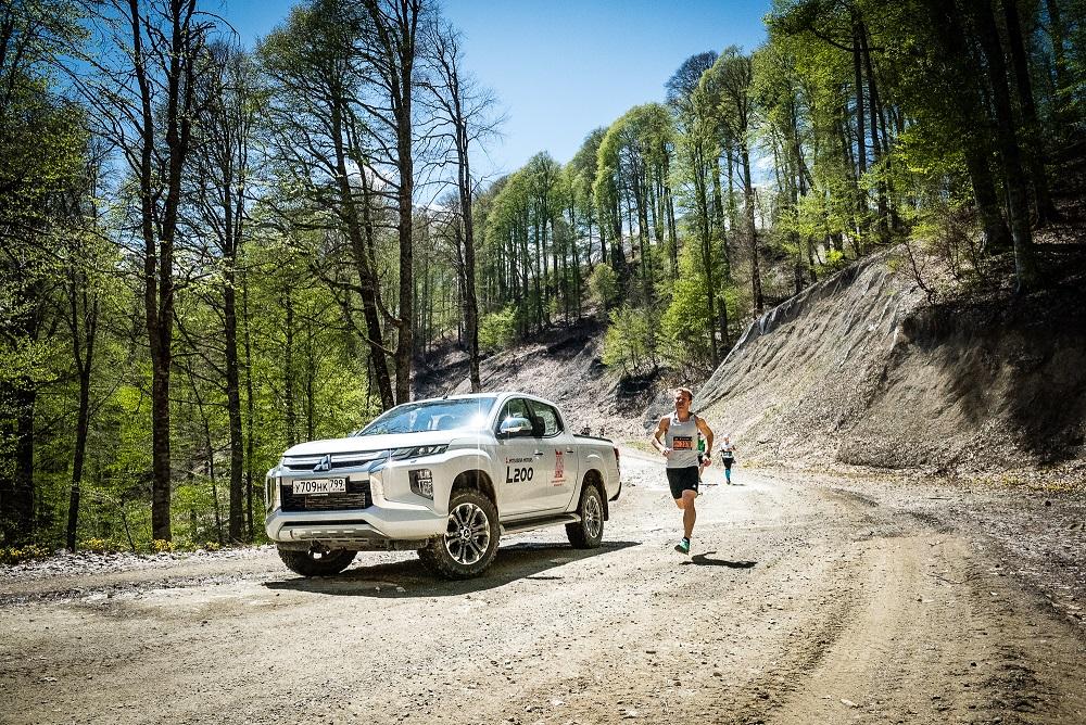Новые рекорды Mitsubishi на фестивале Rosa Run