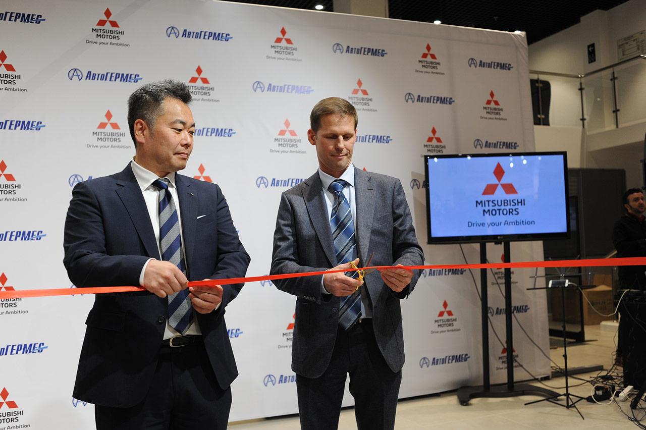 Обновление продолжается: открытие «АвтоГЕРМЕС» в новом глобальном дизайне Mitsubishi