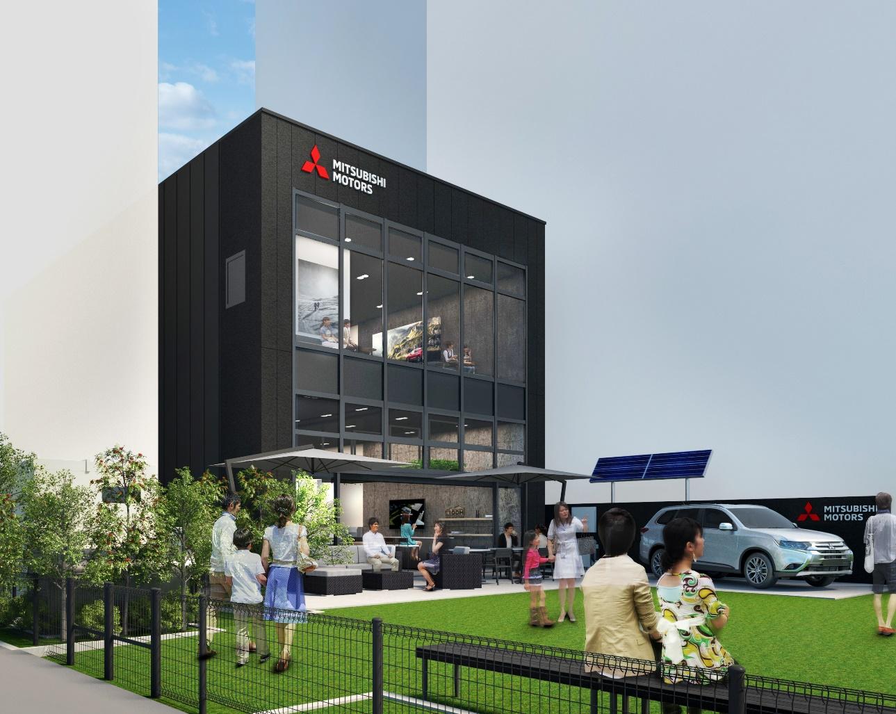 Mitsubishi Motors откроет новый бренд-центр в Токио