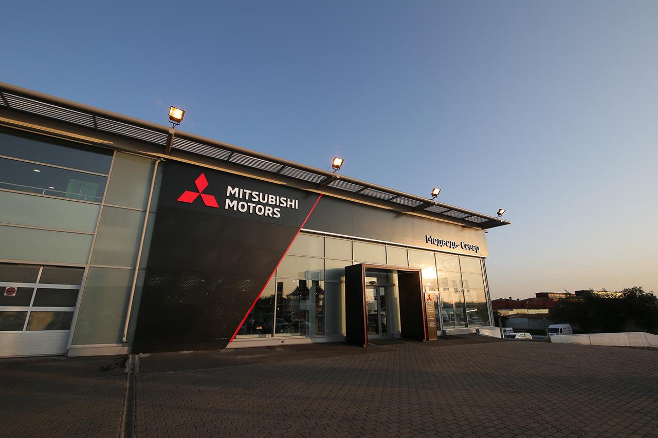 Открылся первый дилерский центр Mitsubishi Motors в новом дизайне в Сибирском регионе