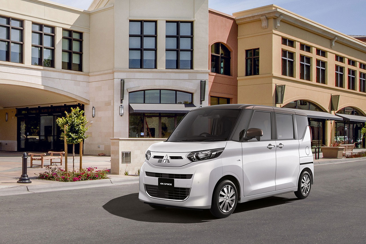 Mitsubishi Motors запускает продажи новых Kei Wagon eK X space и eK space в Японии