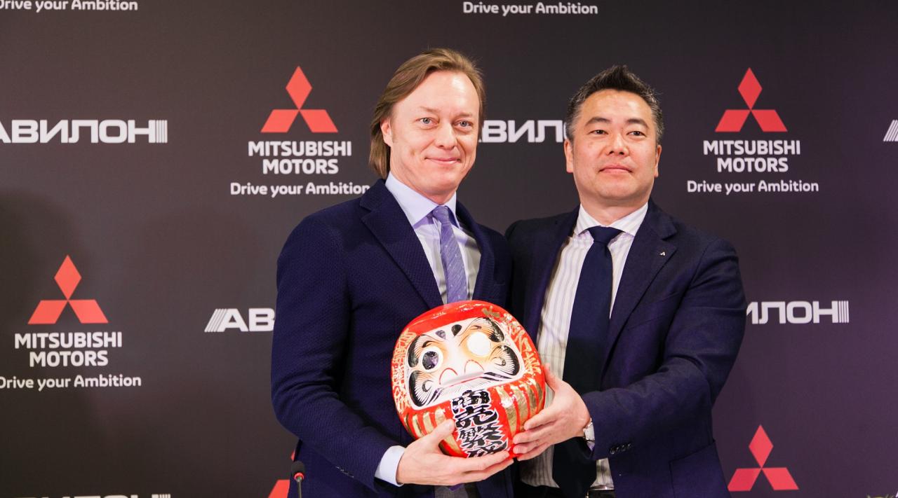 Mitsubishi Motors открыла первый дилерский центр «АВИЛОН» в Москве