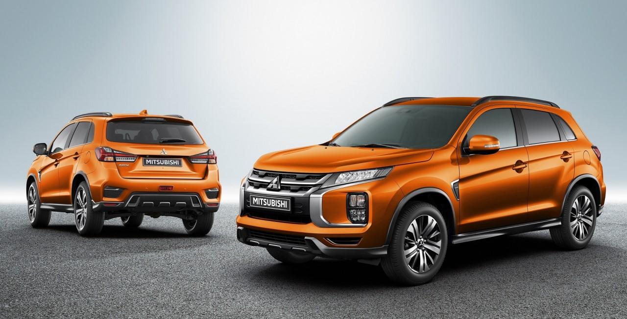 Mitsubishi Motors объявляет технические характеристики и цены обновлённого ASX для России