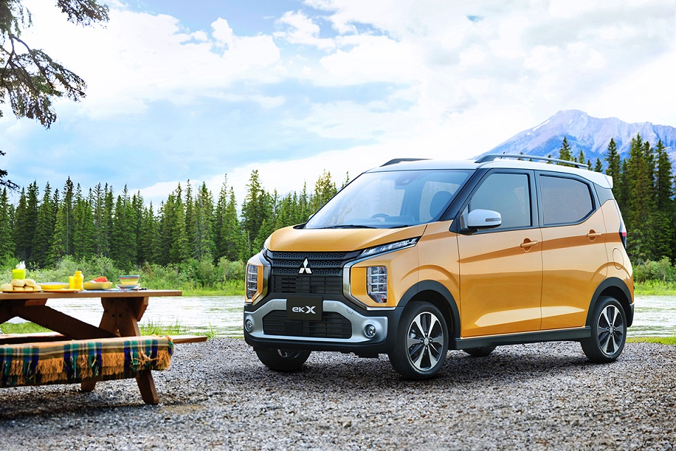 Mitsubishi eK X and eK фургон получили высшую оценку за безопасность в Японии