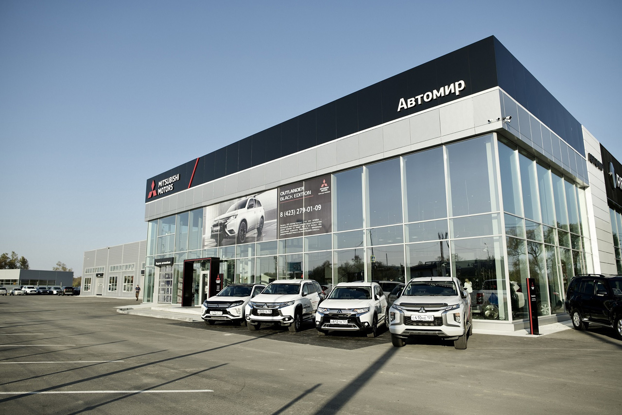 Во Владивостоке открылся первый дилерский центр Mitsubishi Motors в новом формате
