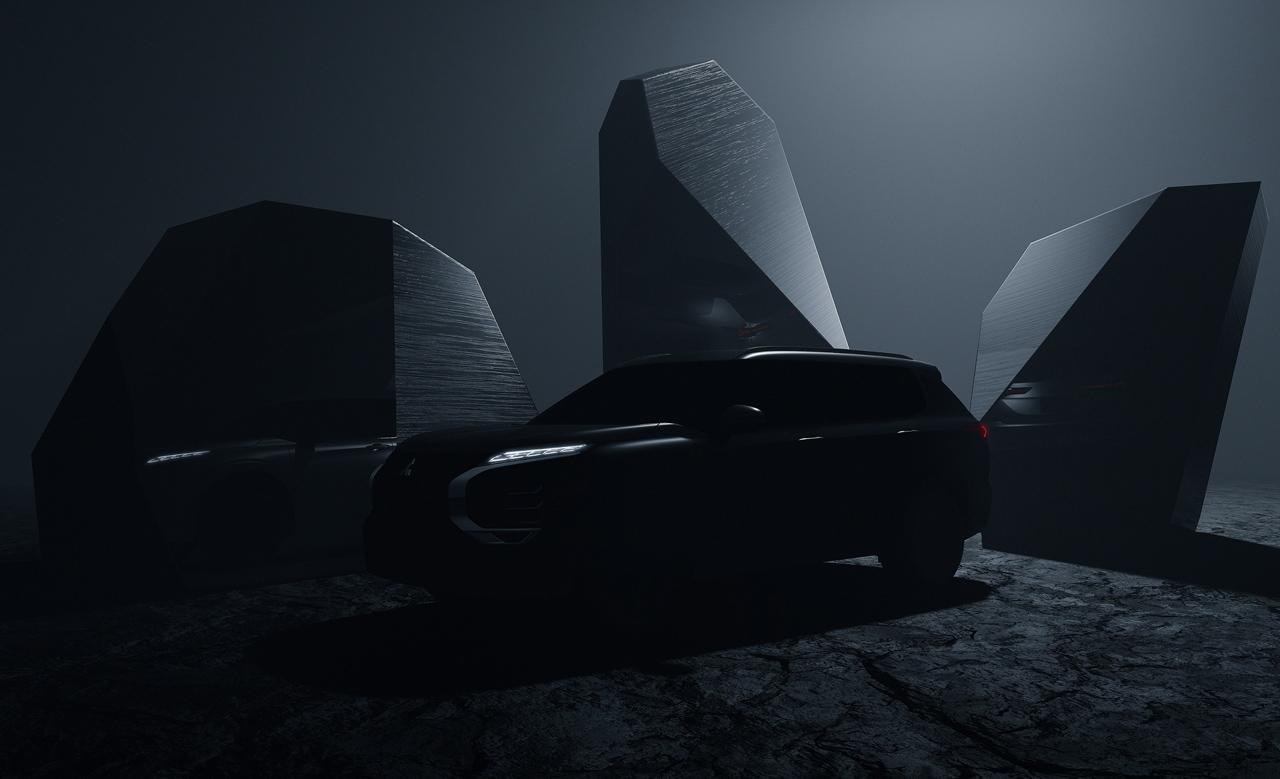 Mitsubishi Motors впервые представила фото обновлённого Outlander