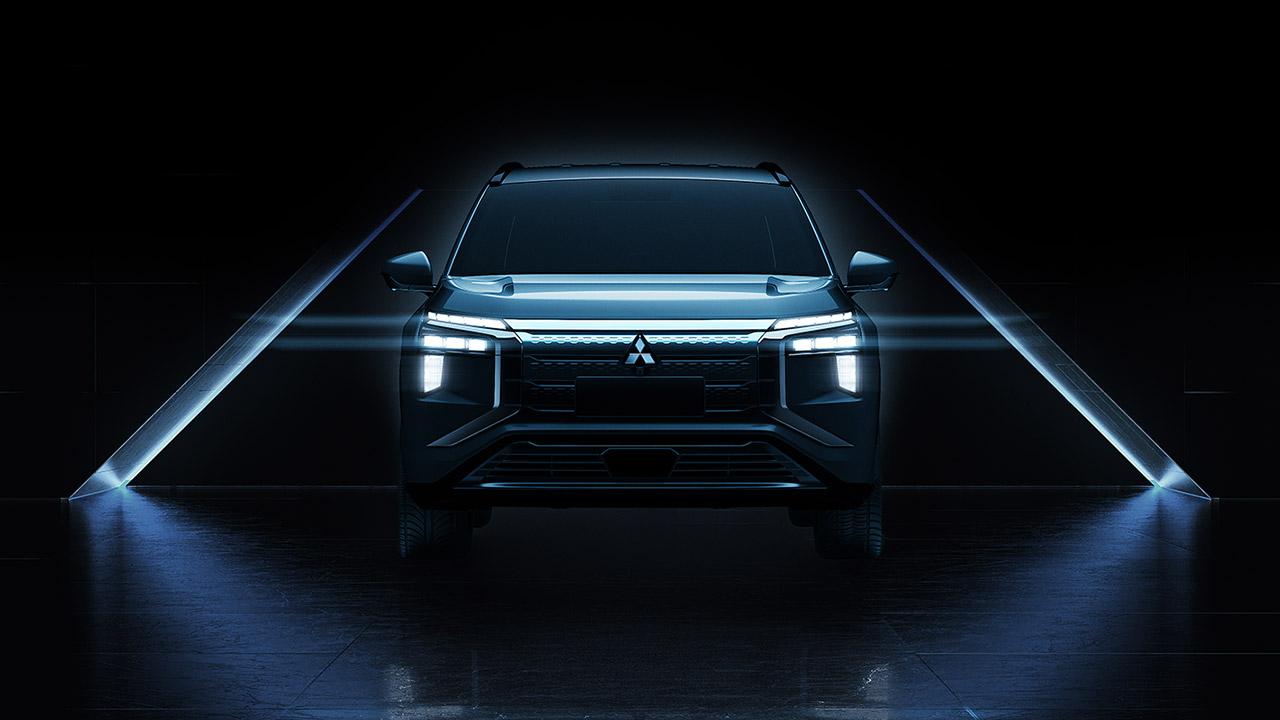 Mitsubishi Motors показала первые кадры нового электрического кроссовера AIRTREK
