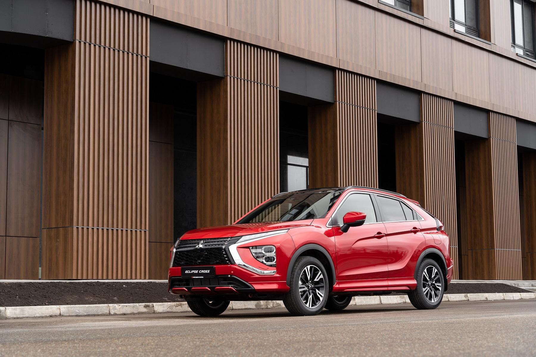 Старт продаж обновлённого Mitsubishi Eclipse Cross в России