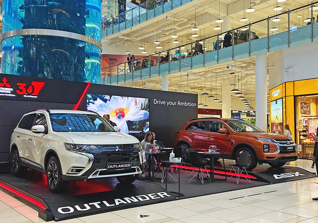 Встречайте Mitsubishi ASX и обновлённый Outlander в «Авиапарке»