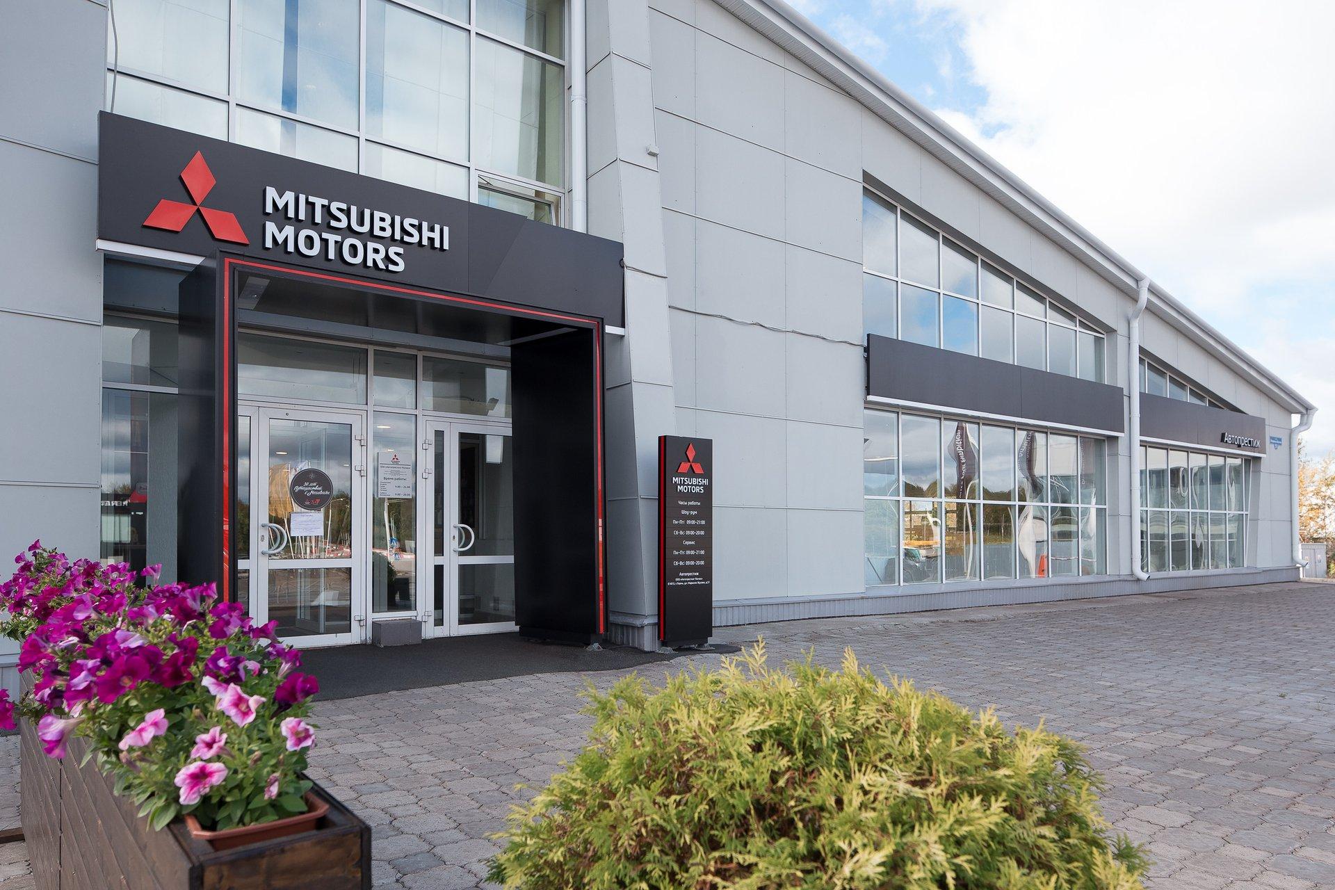 В Перми открылся дилерский центр Mitsubishi Motors в новом формате